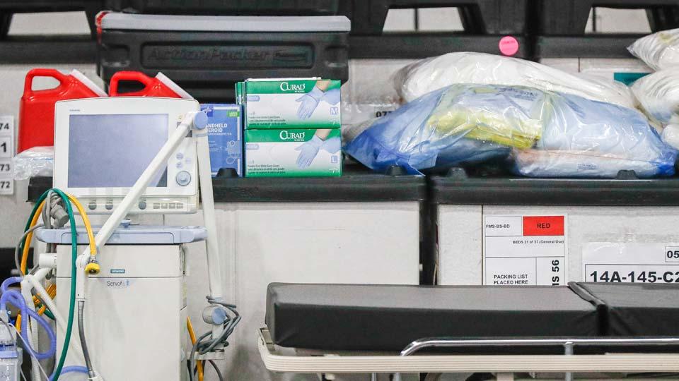 Mechanical ventilators push oxygen into patients whose lungs are failing
