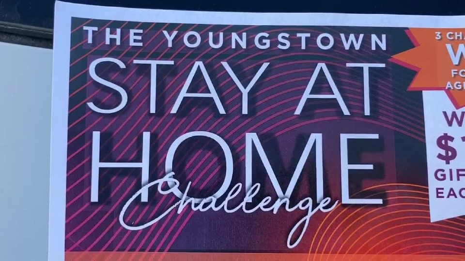 Youngstown stay at home challenge