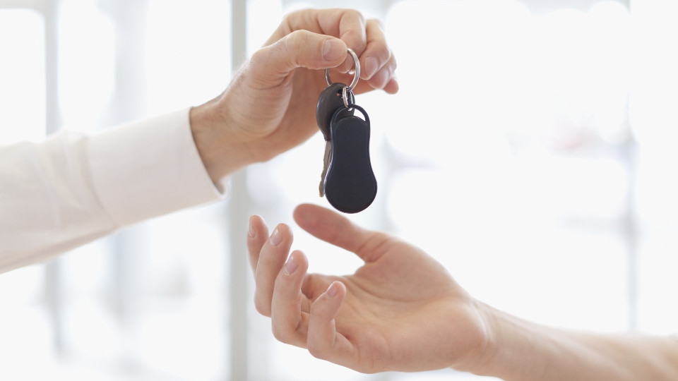 Car dealership, buying cars, car keys.