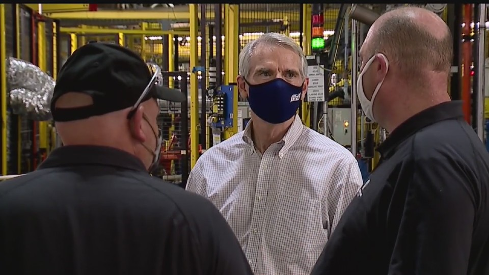 Rob Portman visits Lordstown Motors