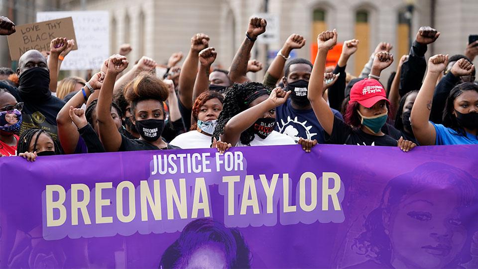 Black Lives Matter protest Breonna Taylor