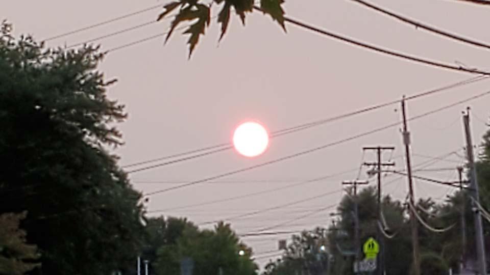 Smokey, Youngstown, sunset