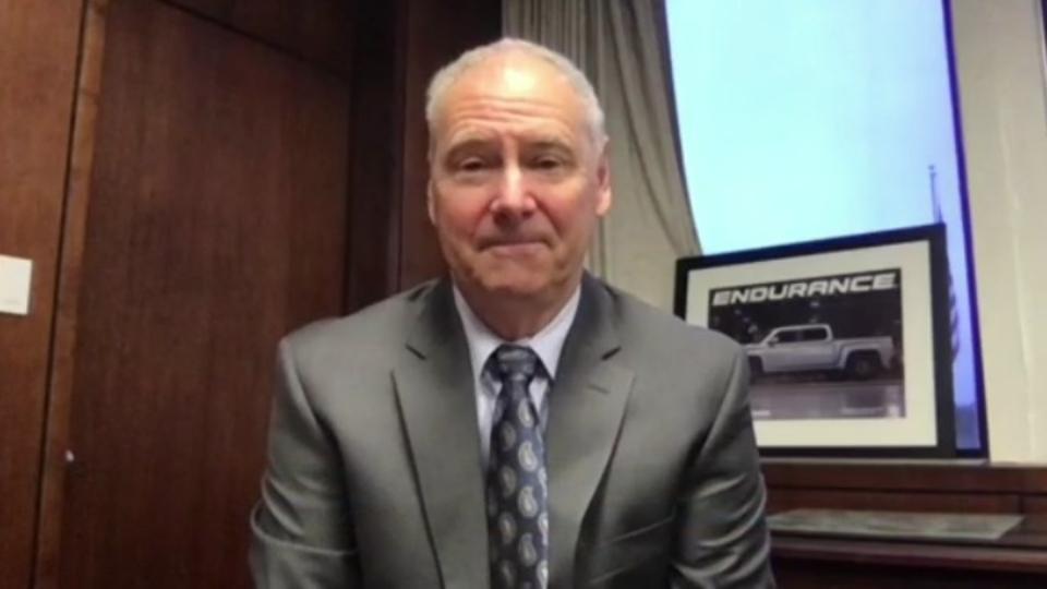 Lordstown Motors CEO Steve Burns