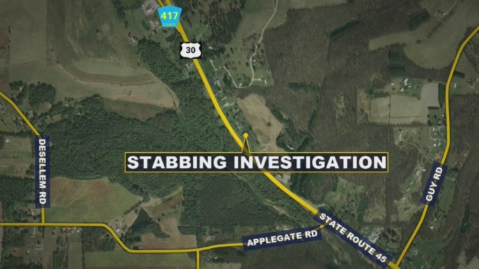 Sheriff's office investigating stabbing at Columbiana County motel (image)