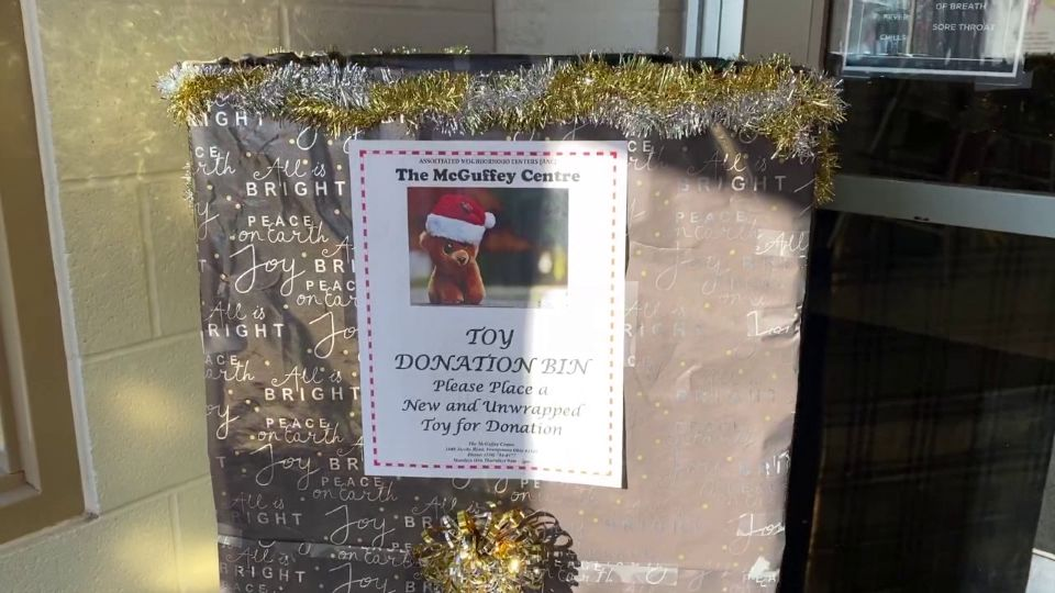 The McGuffey Centre in Youngstown is working on providing toys to families in need this holiday.