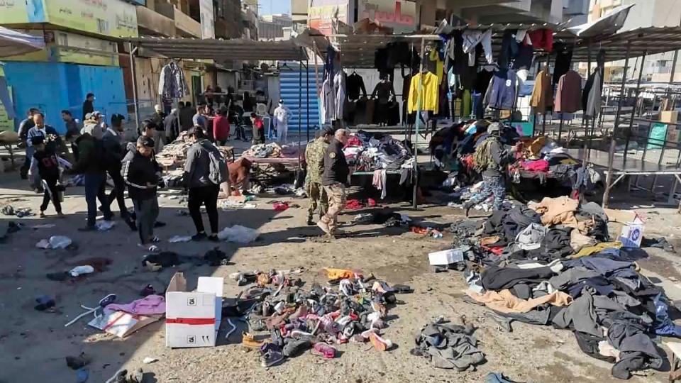 Baghdad suicide bombings