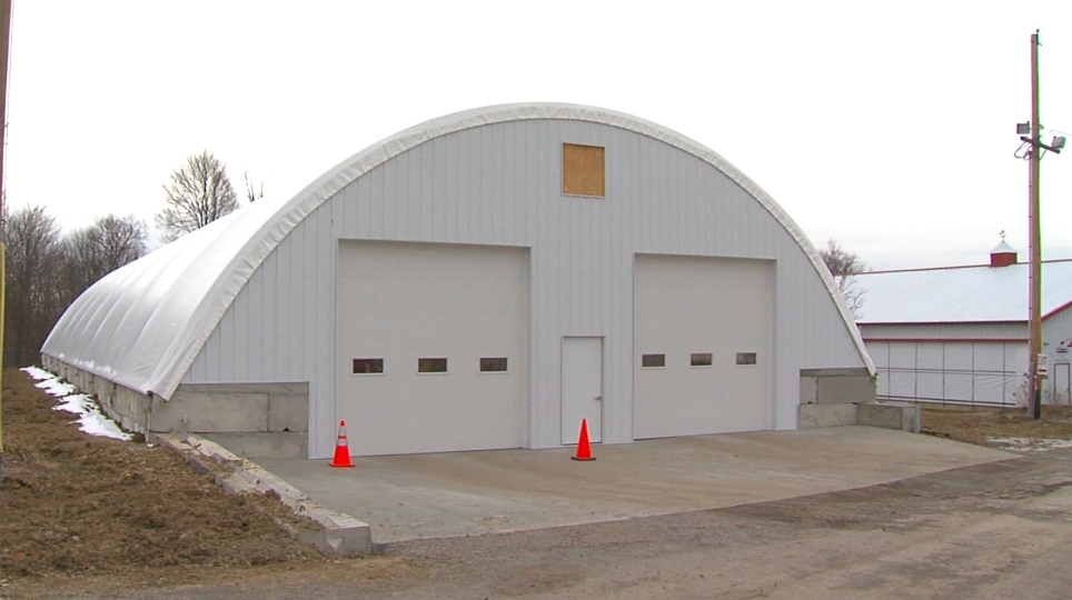 Columbiana Co. Fairground vaccine distribution building