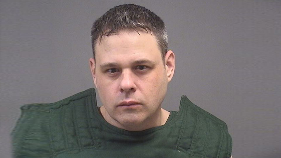 Robert Basic, 43, is facing four counts of pandering obscenity involving a minor.