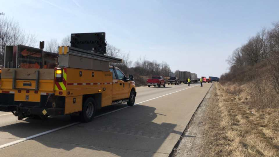 I-80 accident in Mercer County
