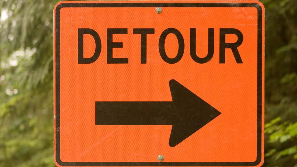 Road Closed, Detour