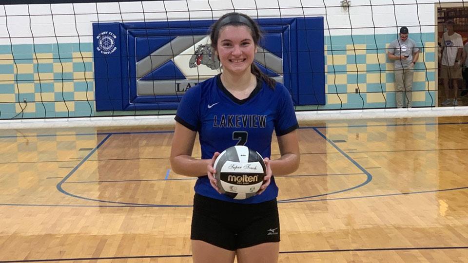 Heather Guthrie volleyball