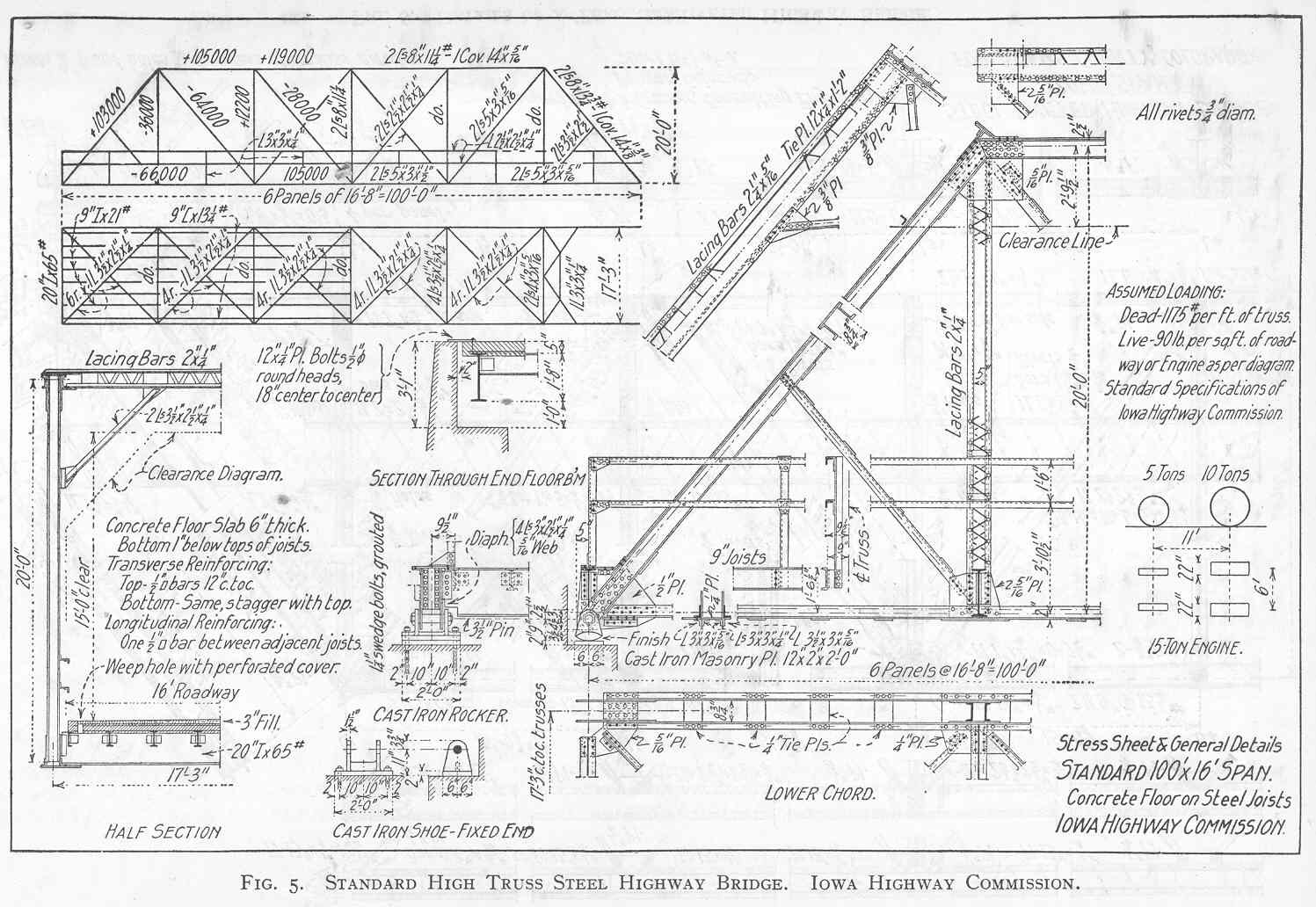 Truss Bridge Plans And Parts