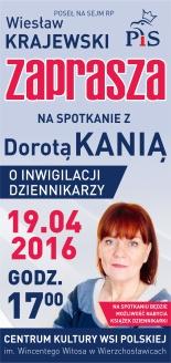 Zaproszenie do Wierzchosławic-D.Kania