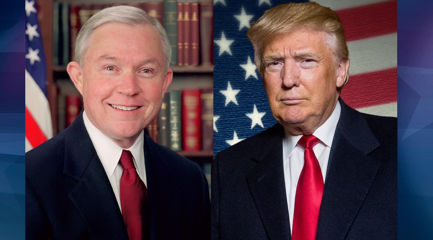 Donald Trump Jeff Sessions_195499