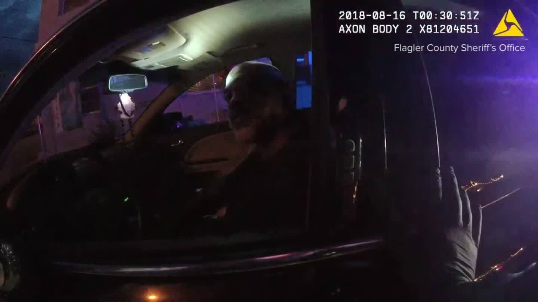 Man draws gun on officers