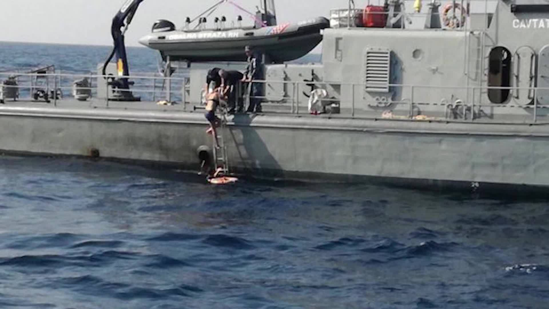 Woman who fell off cruise ship rescued after treading water for 10 hours