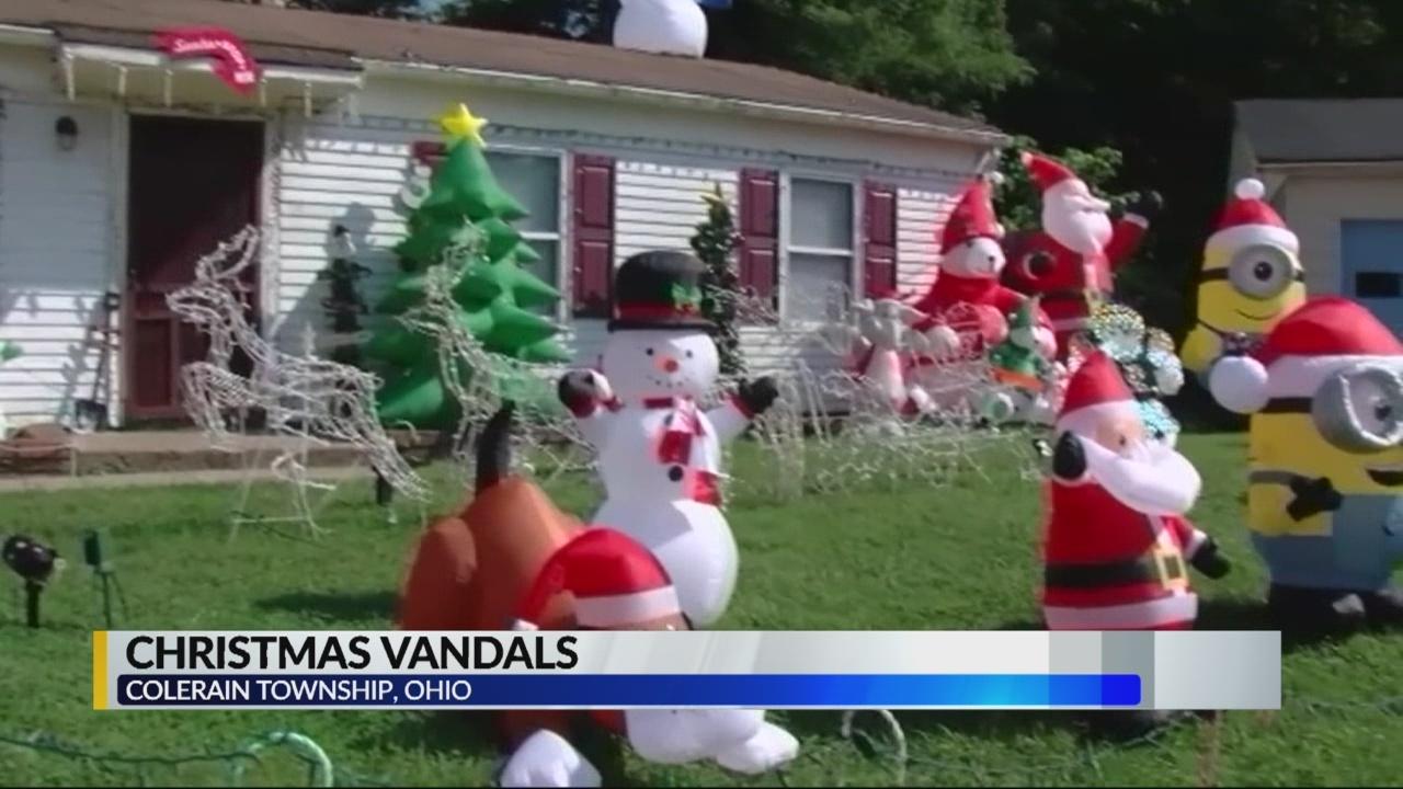 Christmas in September vandals