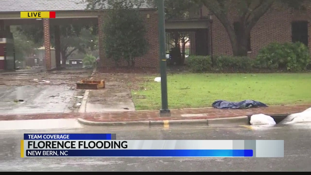 Florence flooding - New Bern, N.C.