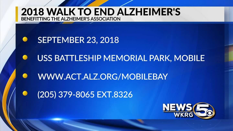 """""""Mark Your Calendar"""" - Walk to End Alzheimer's"""