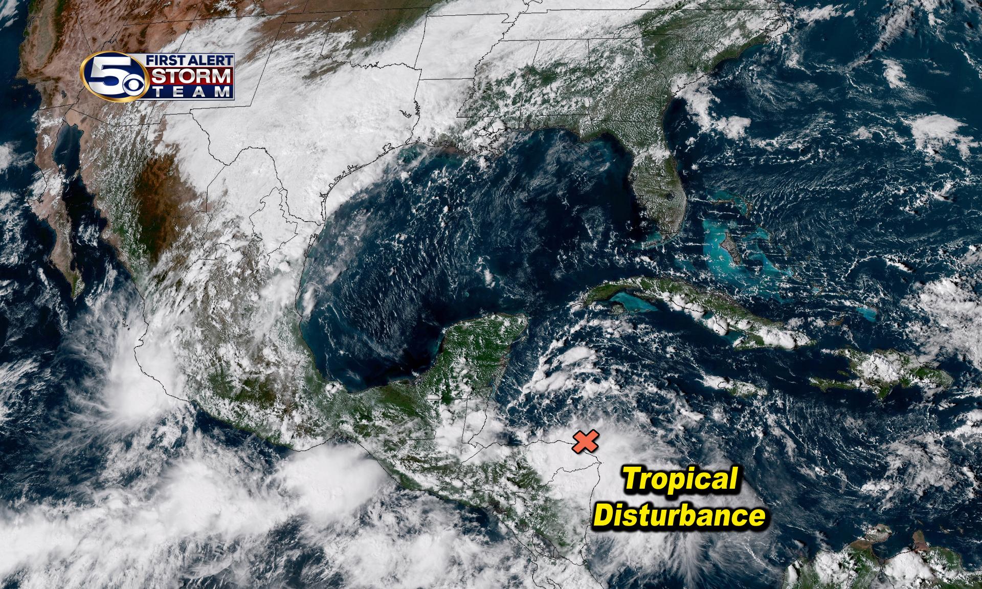 Tropical Disturbance near Honduras