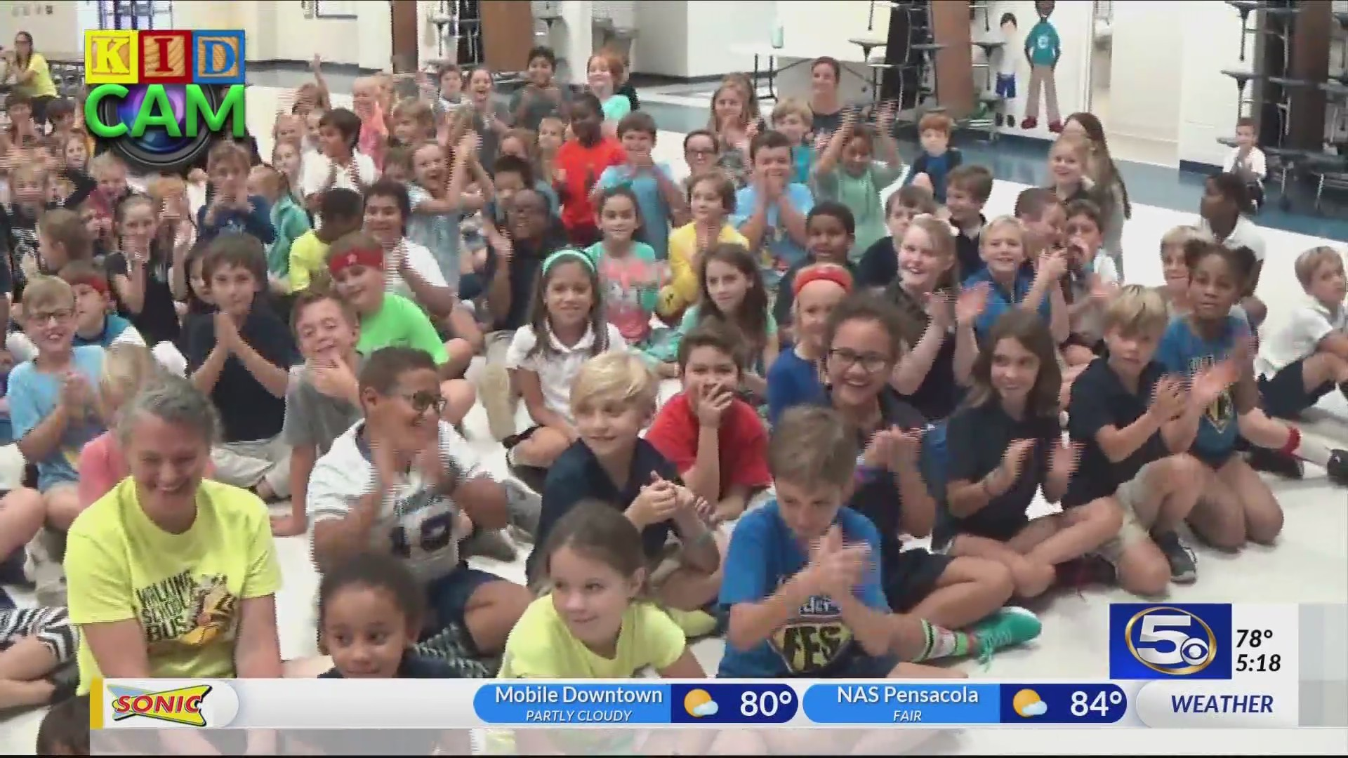 Fairhope Elementary School on Kidcam with Alan Sealls