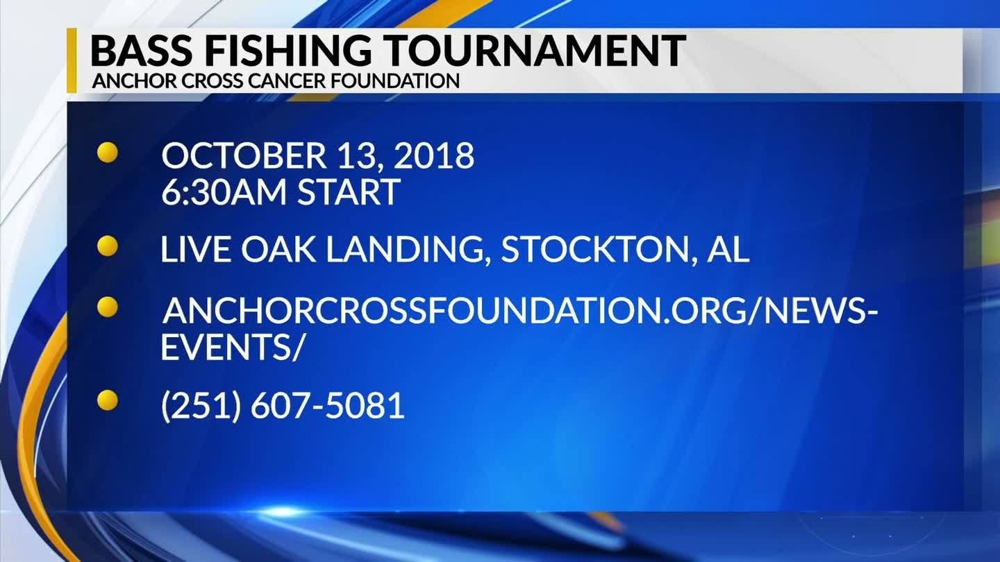 Mark Your Calendar: Anchor Cross Cancer Foundation Bass Fishing Tournament