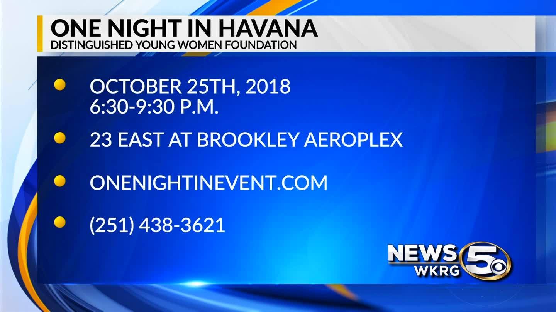 Mark Your Calendar: One Night in Havana