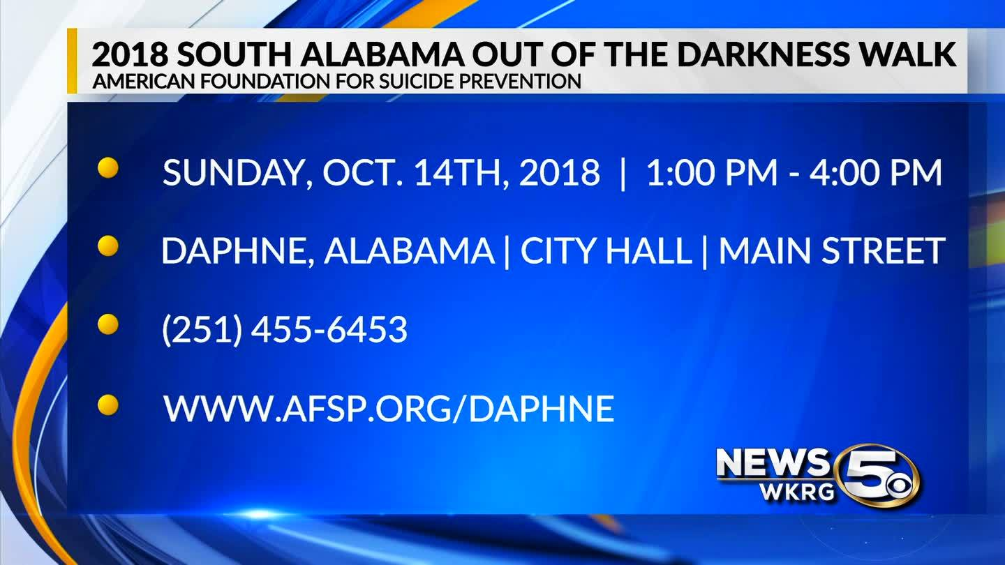 Mark Your Calendar - Out of the Darkness Walk 2018