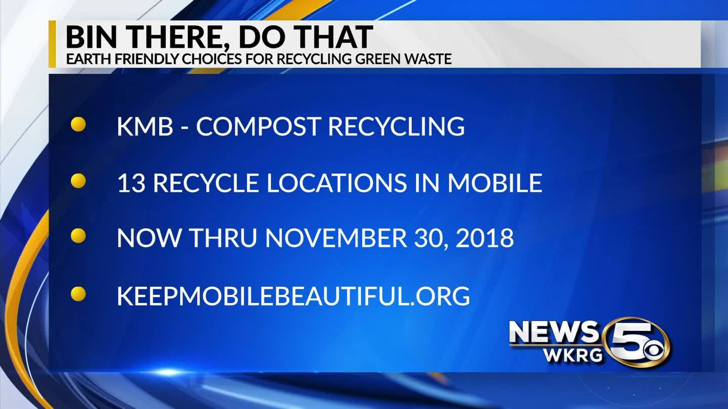 """Keep Mobile Beautiful - """"Bin There, Do That"""" Compost Recycling"""