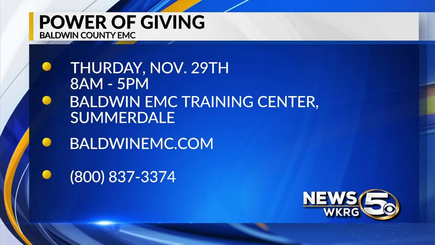 MARK YOUR CALENDAR: Baldwin County EMC Power of Giving