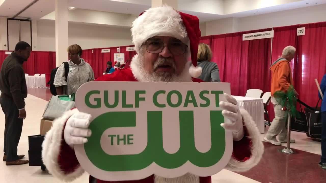 Santa at Senior Expo