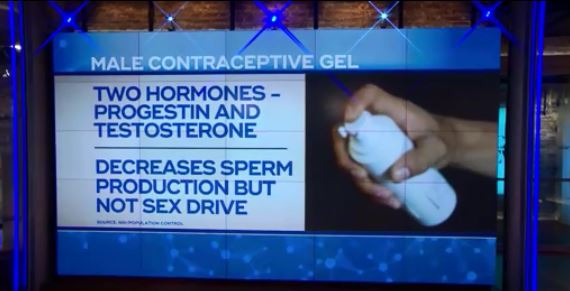 VIDEO: Researchers testing potential breakthrough for male birth control gel
