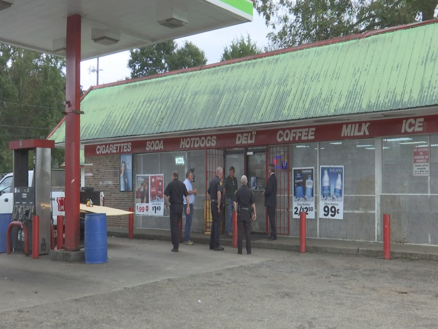 Gas station temporarily closed following investigation on illegal