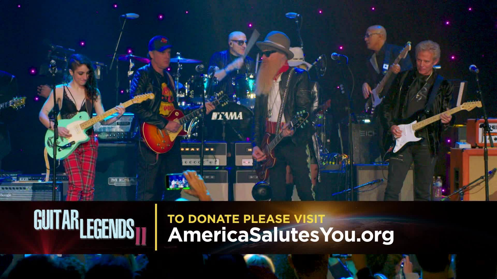 America Salutes You | Guitar Legends II Airs Saturday on The Gulf Coast CW