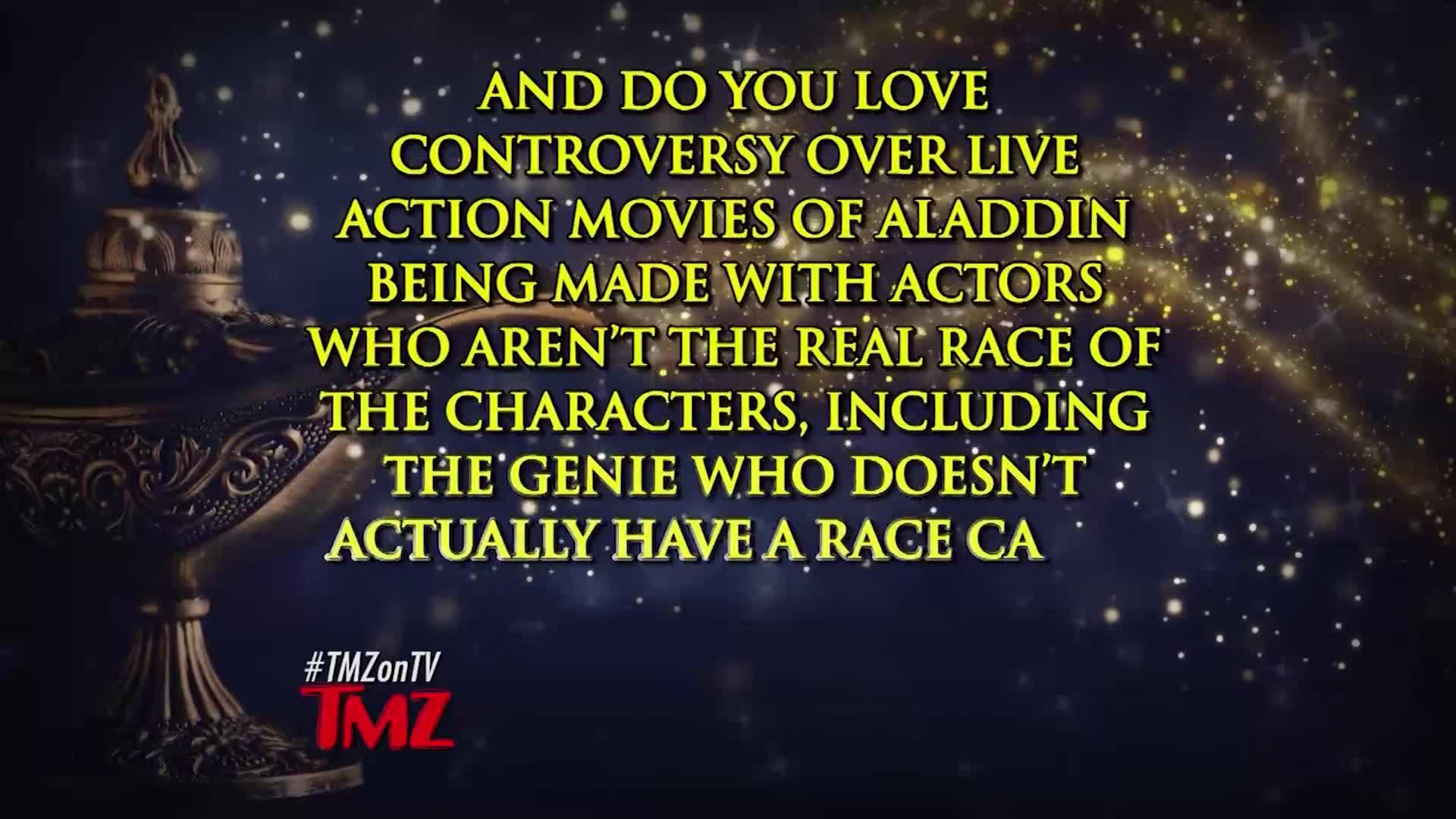 TMZ on Demand | Will Smith as Aladdin Genie