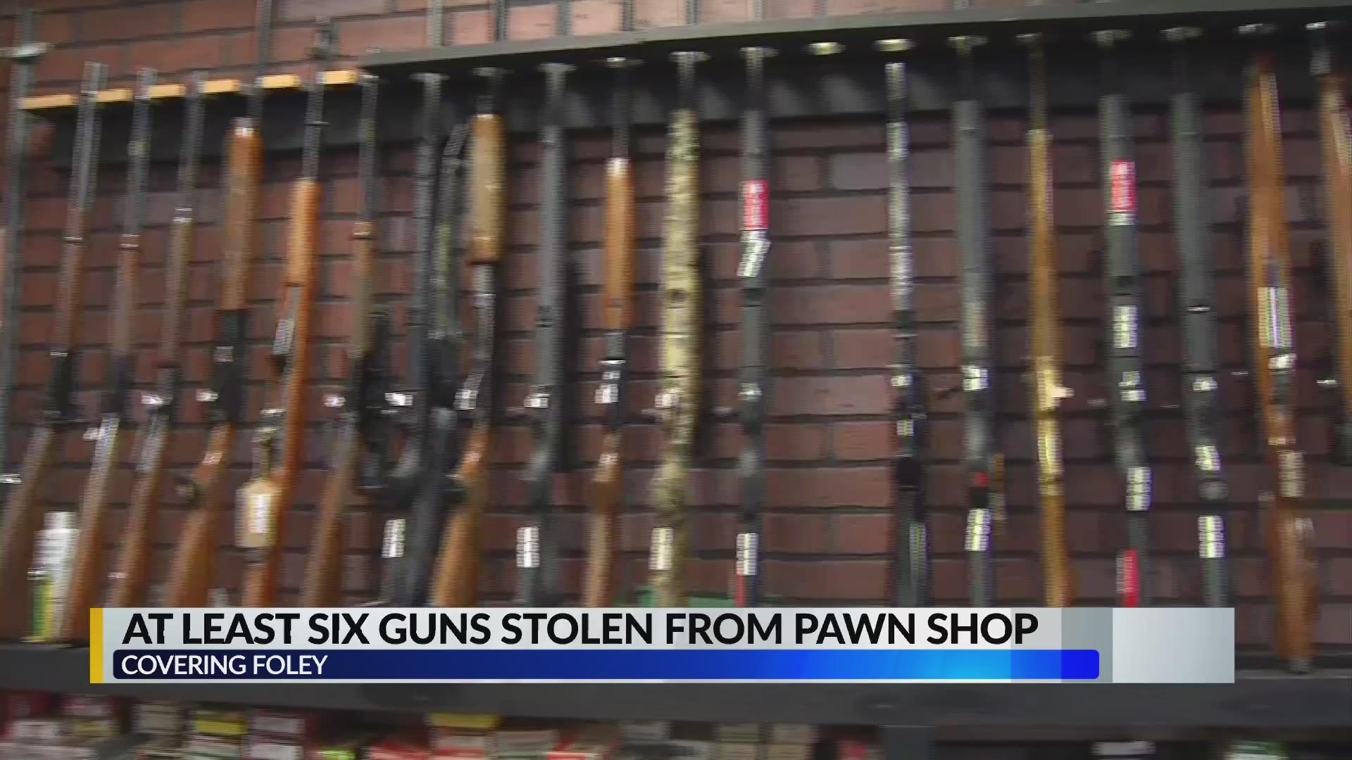Final stolen gun recovered in Foley pawn shop burglary case