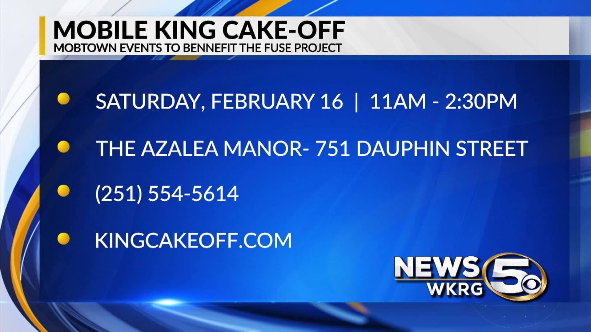 Mobile King Cake-Off