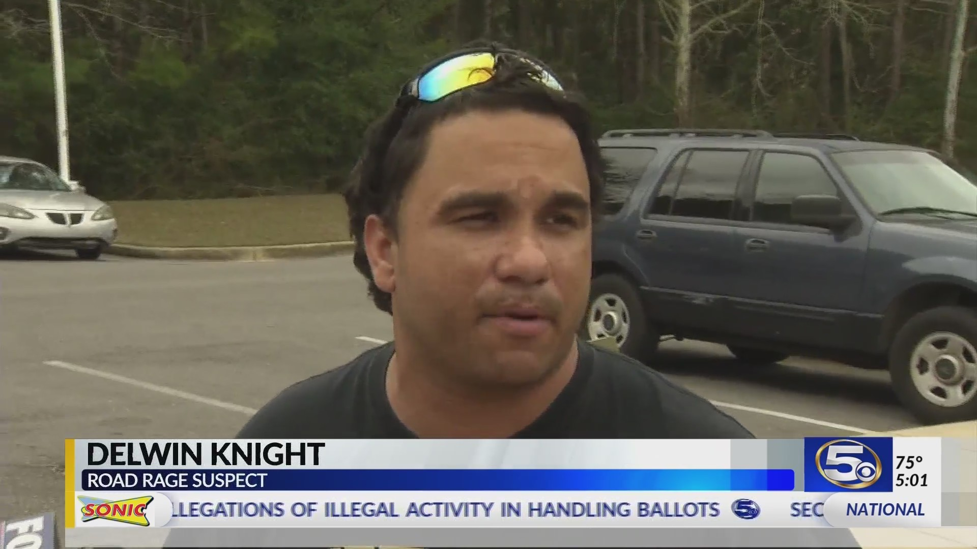 """VIDEO: """"I'm not a bad person"""" Daphne road rage suspect faces more charges"""
