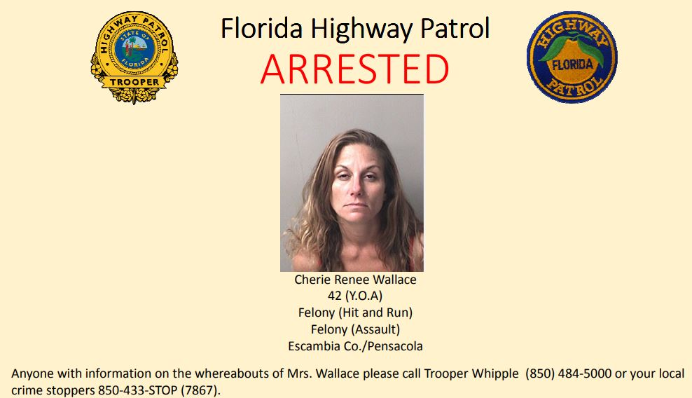 FHP: Woman wanted for running man over with car after committing