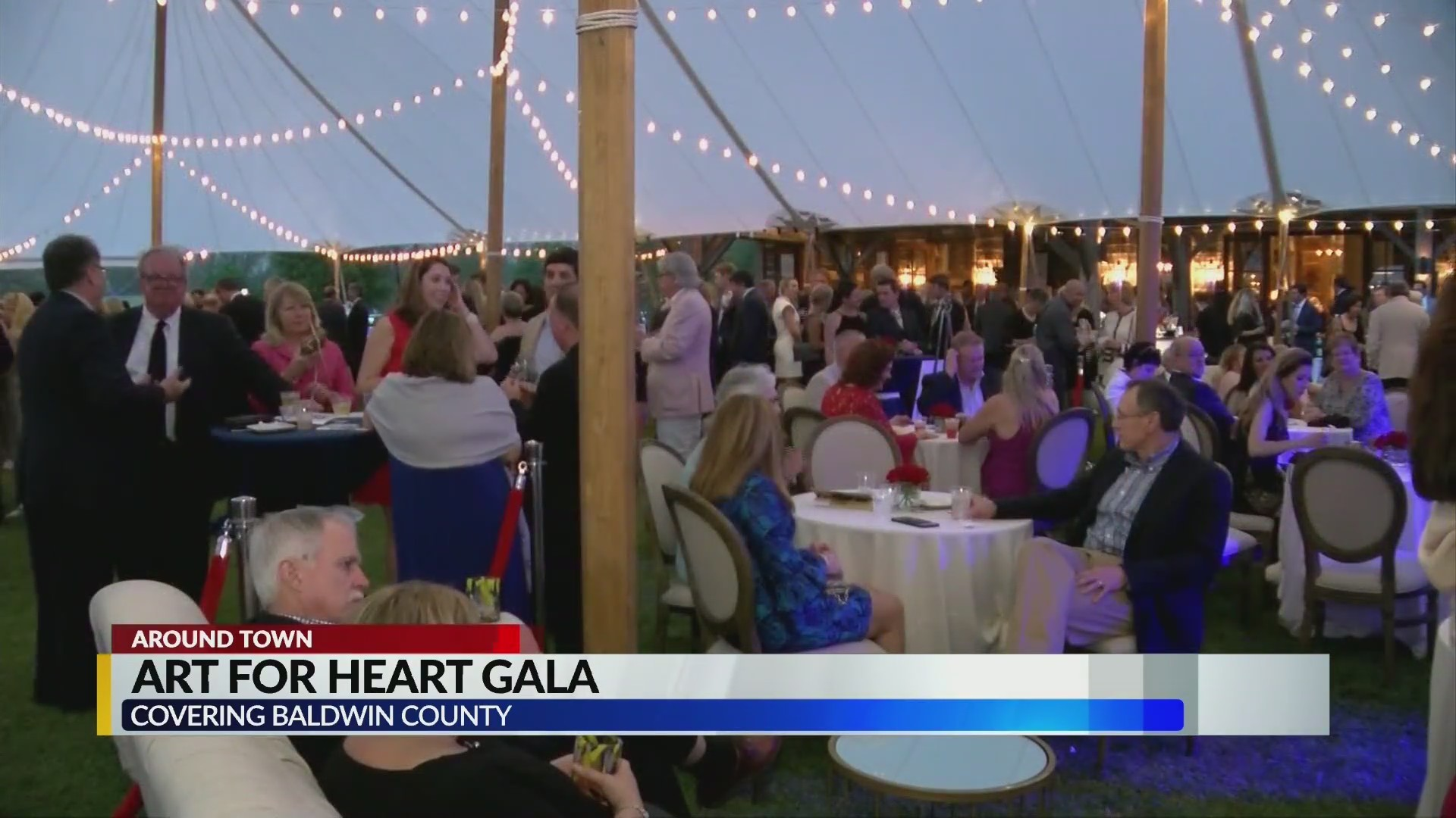 Art for Heart Gala 2019 event in Fairhope