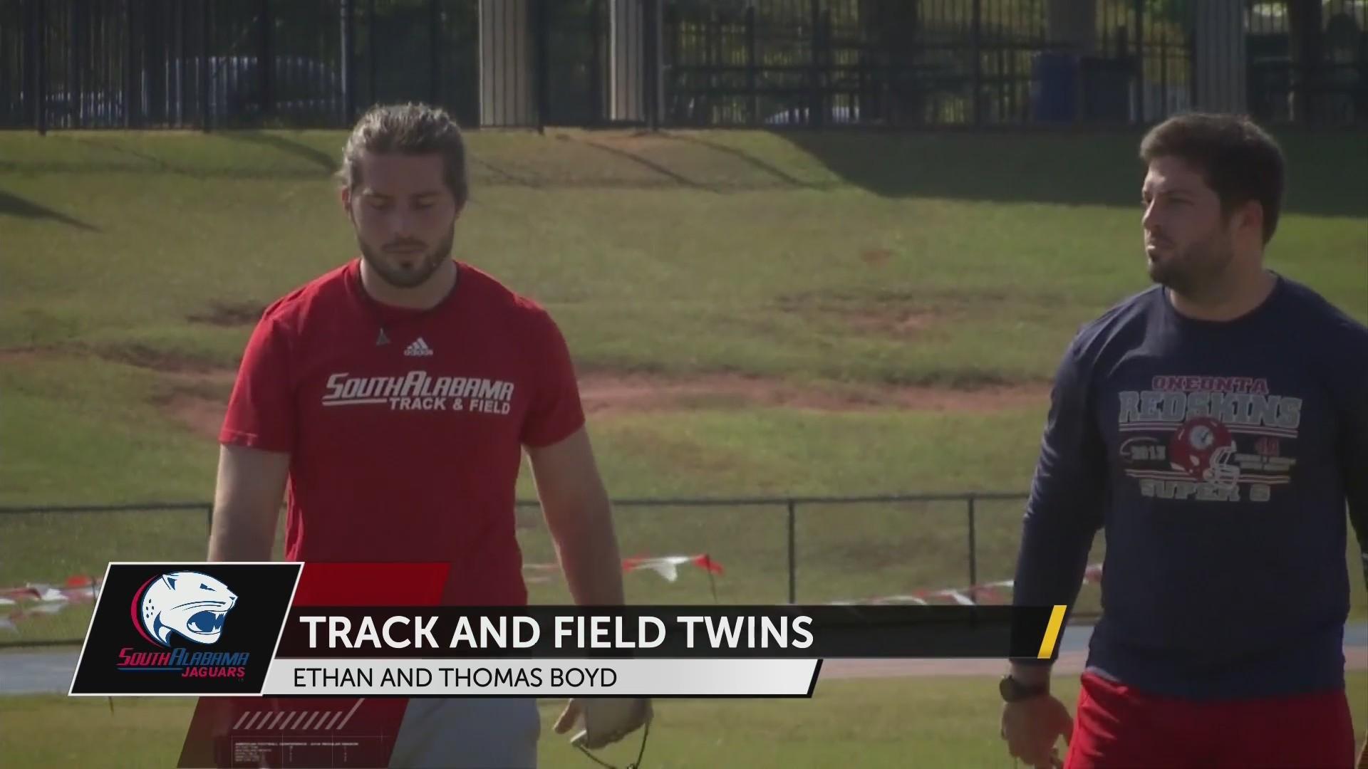 Boyd Twins at South Alabama