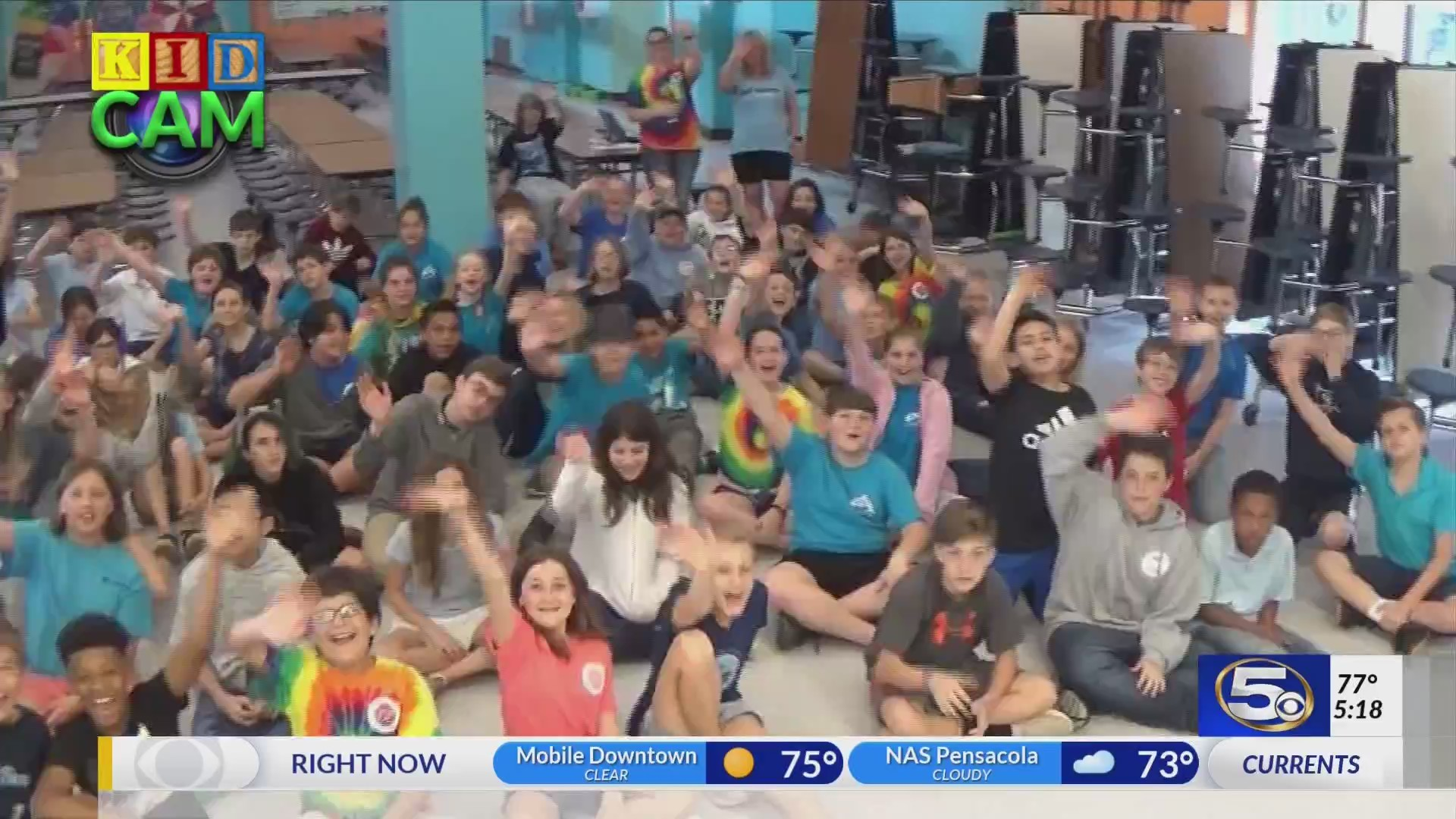 Gulf Shores Elementary on kidcam with Alan Sealls