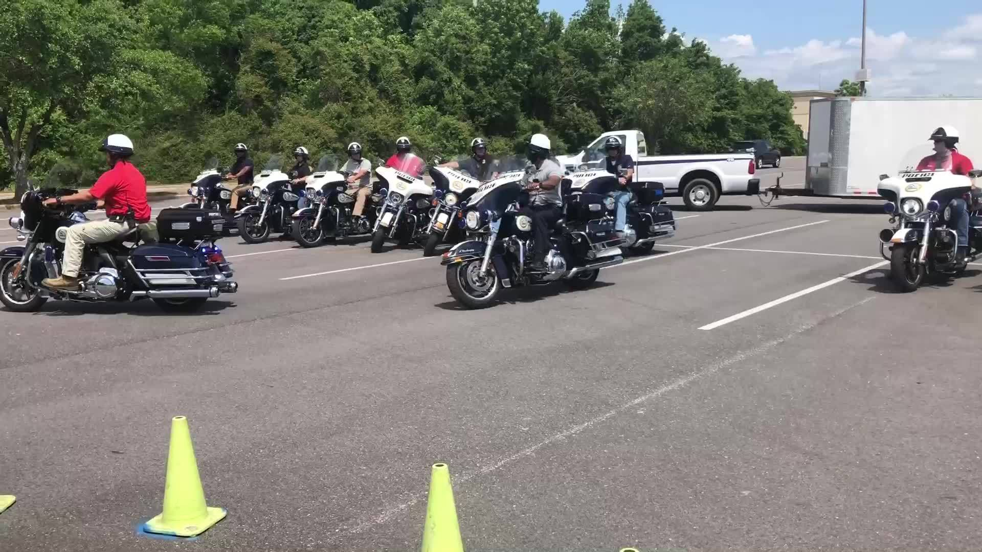 MPD motorcycle challenge