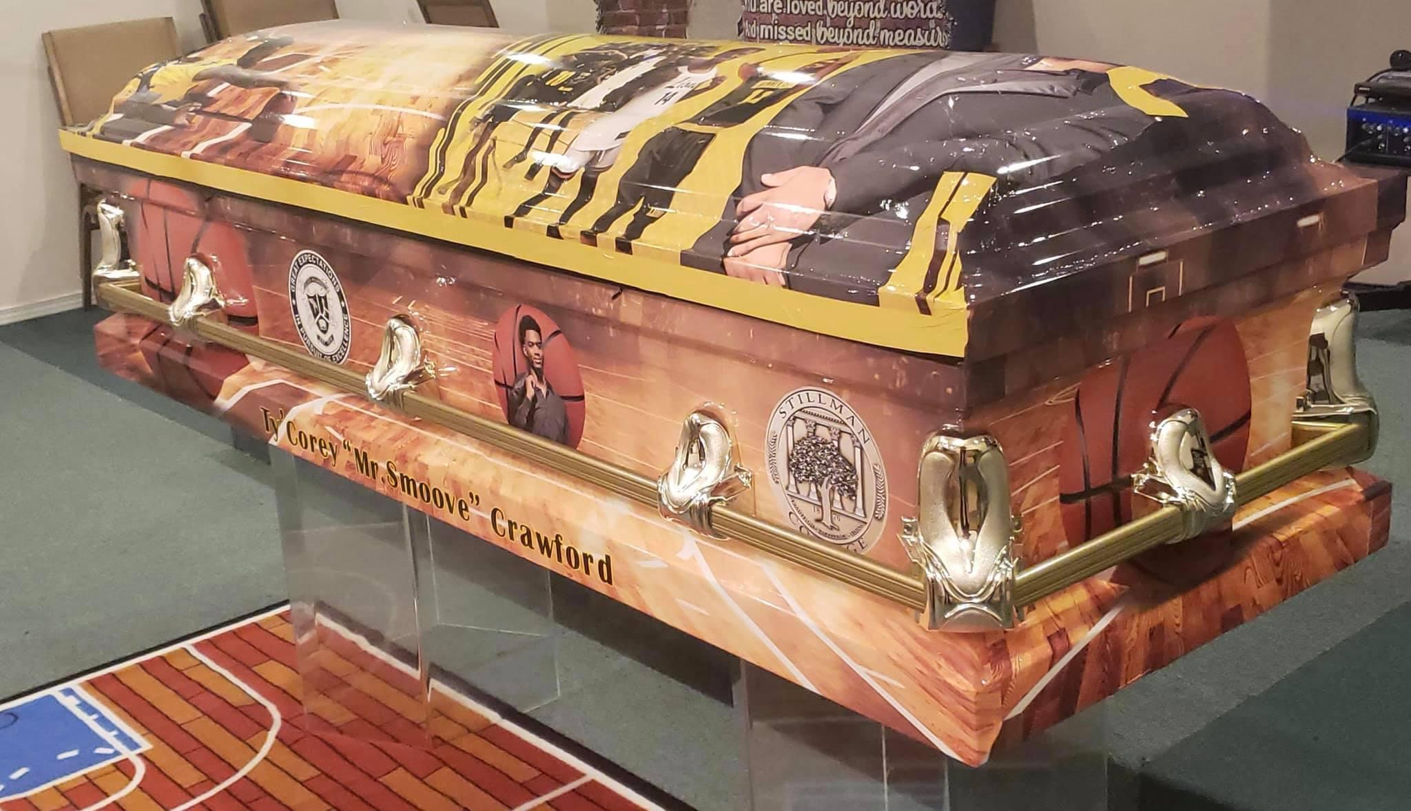 Ty'Corey's casket 2