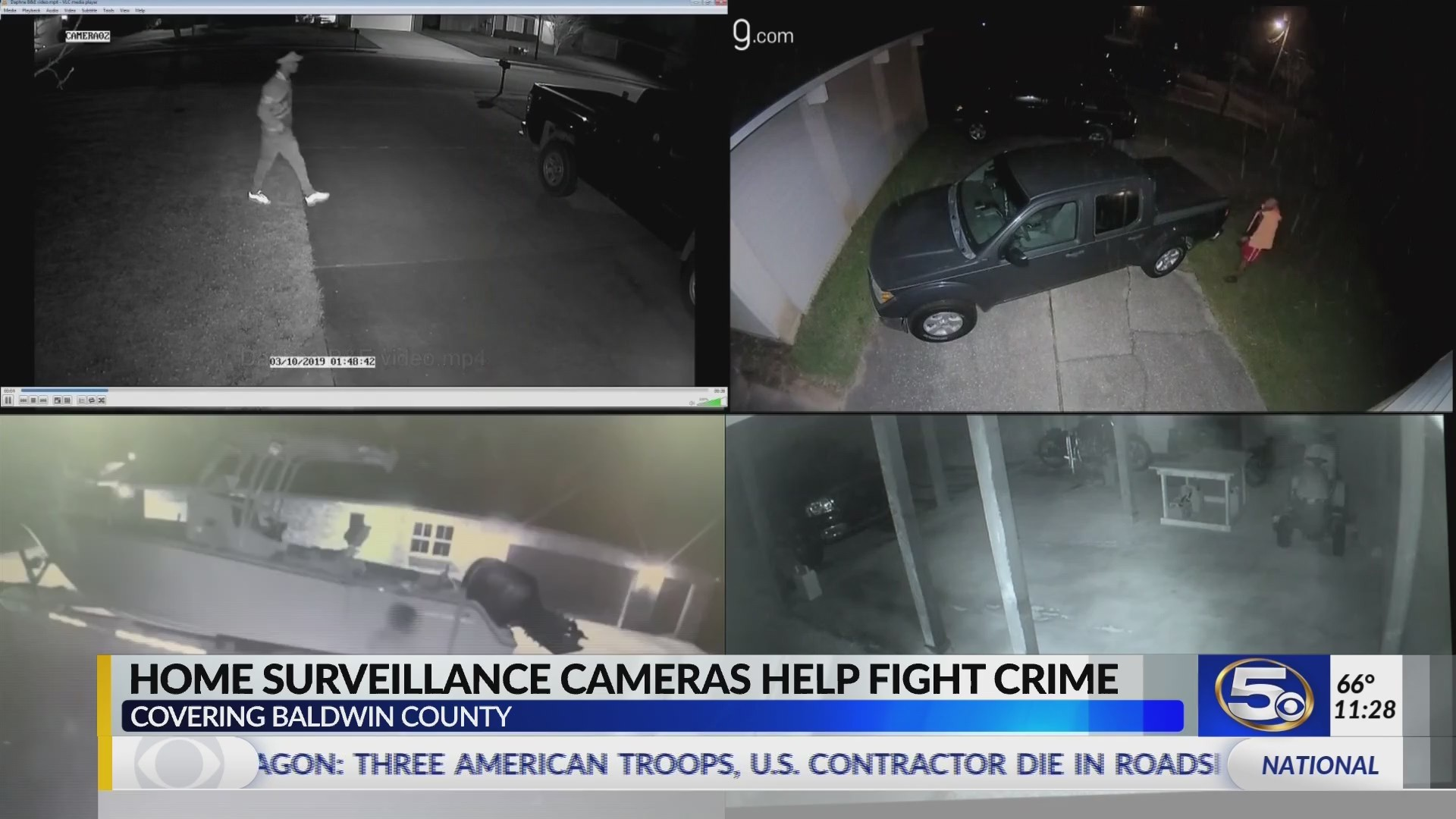 VIDEO: How helpful is it? Baldwin Co. officers using more home surveillance to solve crimes
