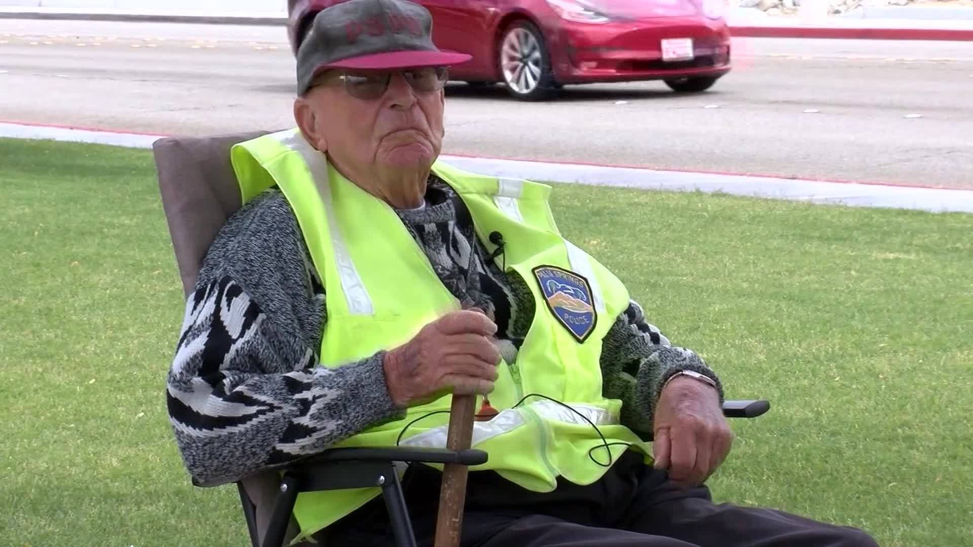 96-year-old still working as crossing guard