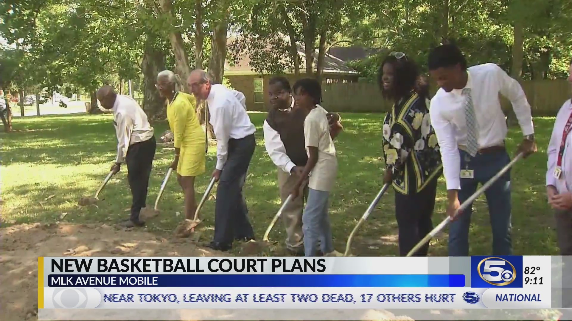VIDEO: Mobile City and County leaders partner to build state-of-the-art basketball court on MLK Avenue