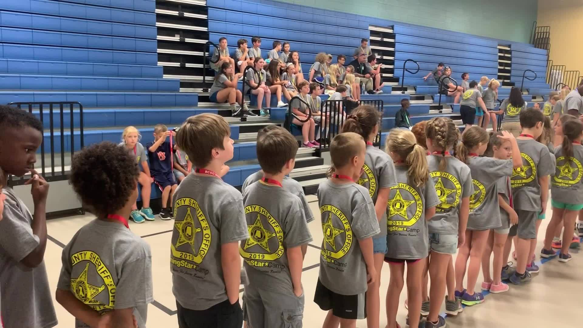 BCSO hosts summer camp for kids