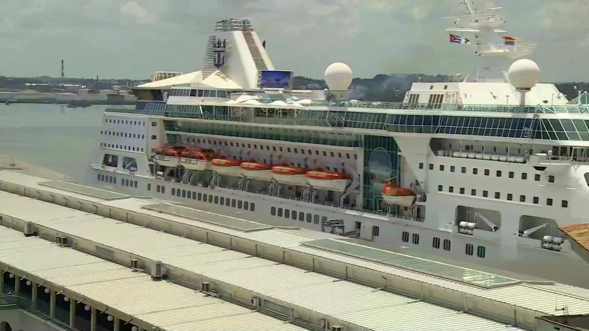 Cuba: Cruise ships change course over U.S. sanctions