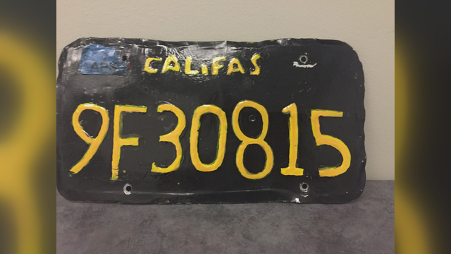 bad california license plate